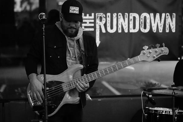 The Rundown with guest drummer Rai Torres