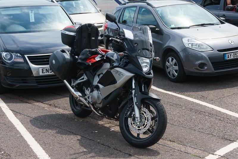Honda CrossRunner, France Trip Summer 2014