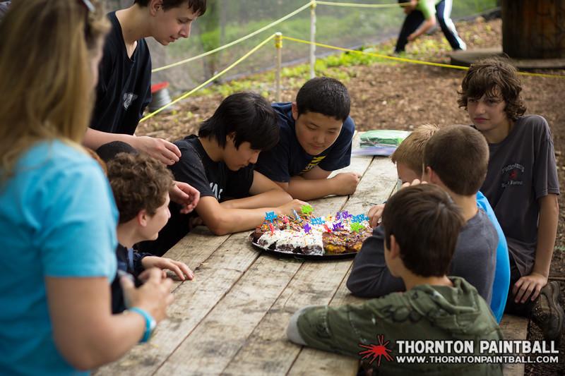 Matthew Haggarty, Ryan, & Tom's Birthday Parties