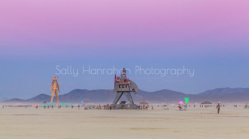 Alien Siege Machine~Burning Man 2014