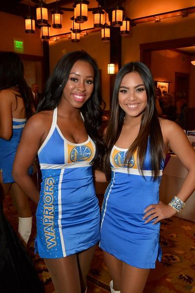 Jekailah and Kaela of Golden State Warriors Dance Team.jpg