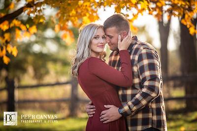 Brittney and Adam Beloit Engagement
