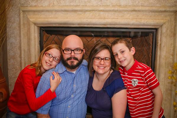 Johnson Family 16 Feb 2013