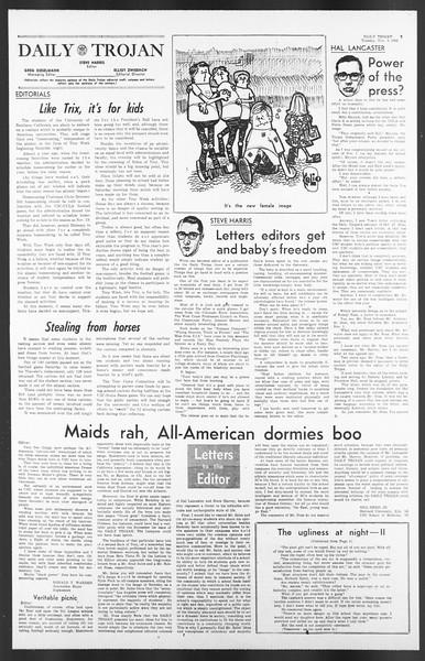 Daily Trojan, Vol. 58, No. 36, November 08, 1966