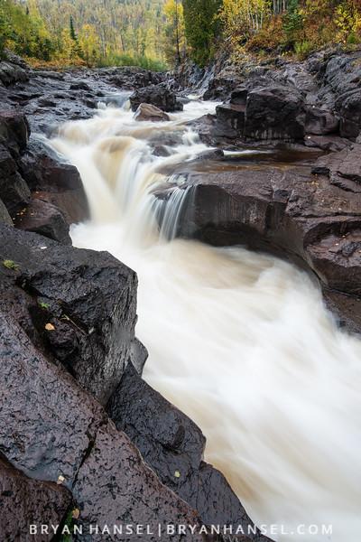 Temperance River in Fall