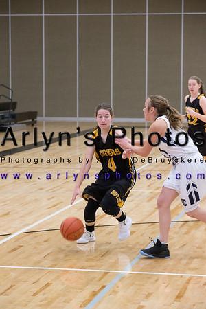 Hutch Girls Basketball vs DC