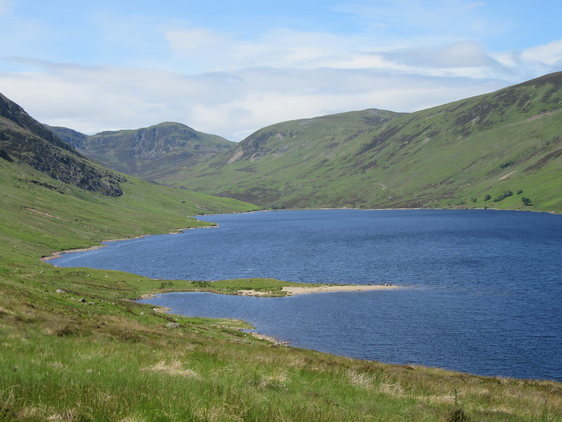 Loch Turret viewed from near the dam