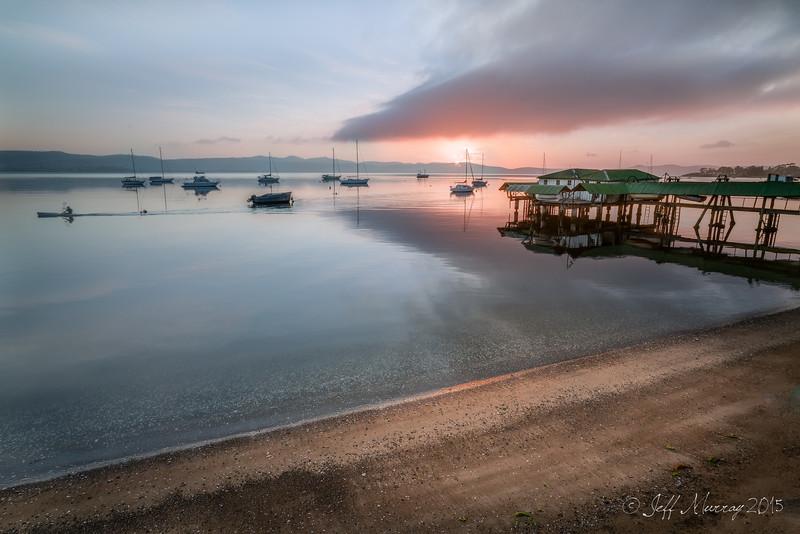 Sandy Bay paddling