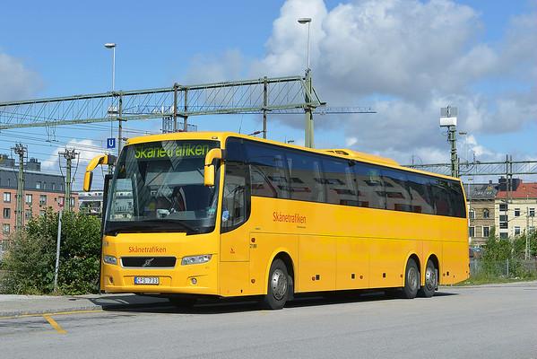 Sweden buses 2016