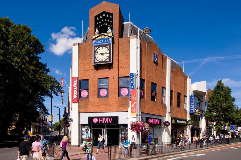 ARCADIA shopping centre, Ealing Broadway, W5, London, United Kingdom