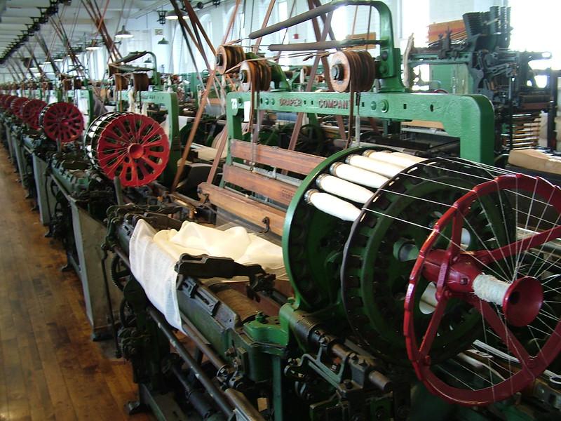 Weaving Machine - Boott Cotton Mills - Lowell, MA