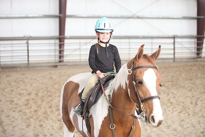 Horseback Riding Lessons - Anna and Emily 2015