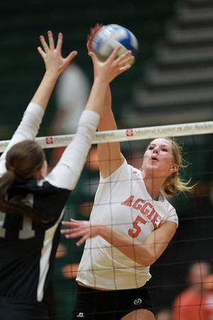 CSU vs. UNLV Volleyball 2012