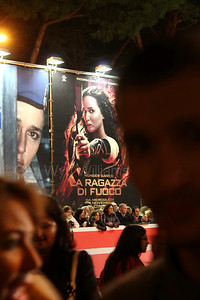 Hunger Games at the Rome International Film Festival in Italy