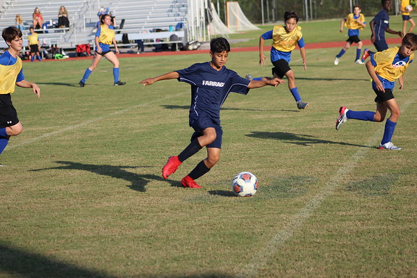 MS Soccer  vs Northside Christian