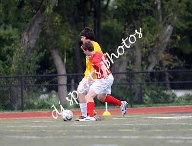 Manual -vs- St X Soccer JV