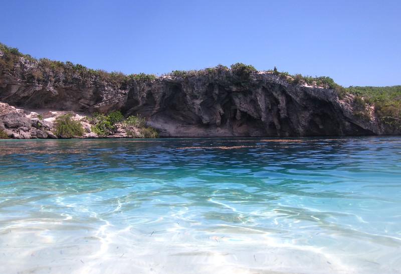 Dean's Blue Hole, Long Island, Bahamas