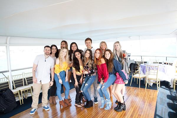 Alexis' 21st birthday yacht party at Hornblower Newport Beach, CA