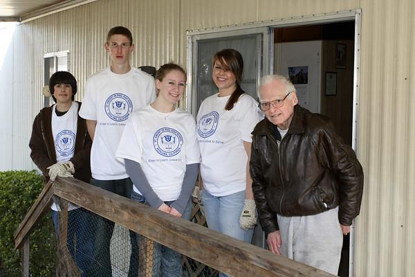 St. Vincent's School volunteers