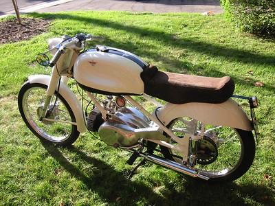1955 Moto Rumi 125 Bicarburatore SuperSport Amatore