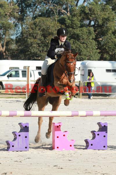 2012 08 25 Horsemens Pony Club 50th Anniversary ODE ShowJumping C Grade