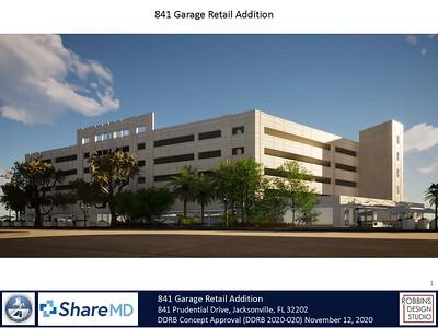 841 Prudential Parking Garage Retail