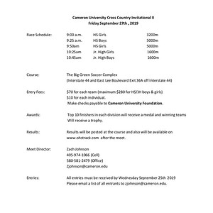 9.27.19 Cameron University - Lawton