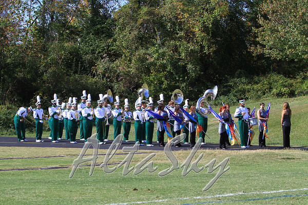 GC HOMECOMING 2010 - BAND, CHEERLEADERS and CROWDS