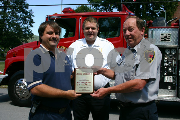 Fireman of the Year - October 2005