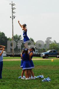 Wallkill Lightning Panthers vs Goshen Blue - Cheerleading - 9-14-08
