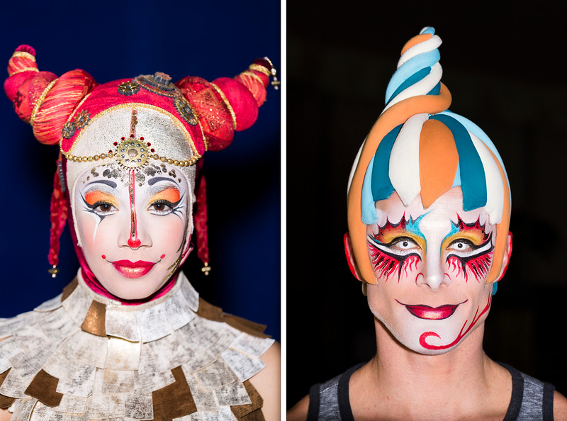 Cirque du Soleil Artists / Paris, 2013