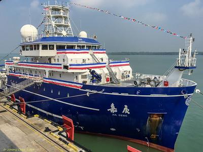 2019_08_17 Tan Kah Kee Research Vessel, Xiamen, Port Klang