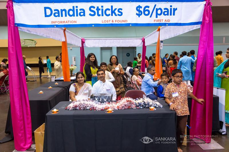 © SIVA DHANASEKARAN   SILICON PHOTOGRAPHY   SILICONPHOTOGRAPHY.COM   2019   Phone / Text: (408) 579-9135   Email: siva@siliconphotography.com   SANKARA EYE FOUNDATION   GIFT OF VISION   DANDIA   Santa Clara Convention Center