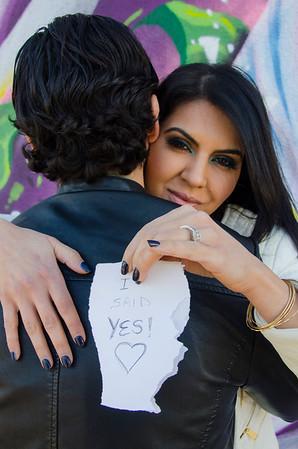 Leila & Daniel  Engagement