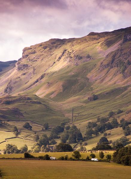Castlerigg in the landscape