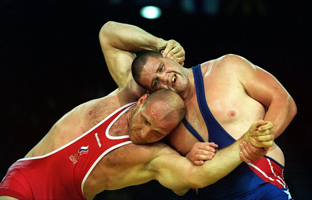 ". <p><b> Olympic officials have voted overwhelmingly to bring this back in time for the 2020 Tokyo Games � </b> <p> A. Wrestling  <p> B. Baseball  <p> C. Open bribery  <p><b><a href=\'http://www.twincities.com/sports/ci_24044812/wrestling-returning-olympics-2020-tokyo-games?source=rss\' target=""_blank\"">HUH?</a></b> <p>    (Billy Stickland/Allsport)"