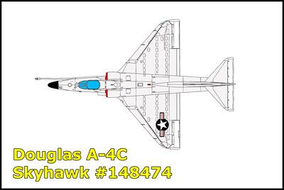 Douglas A-4C Skyhawk #148474 12/30/13