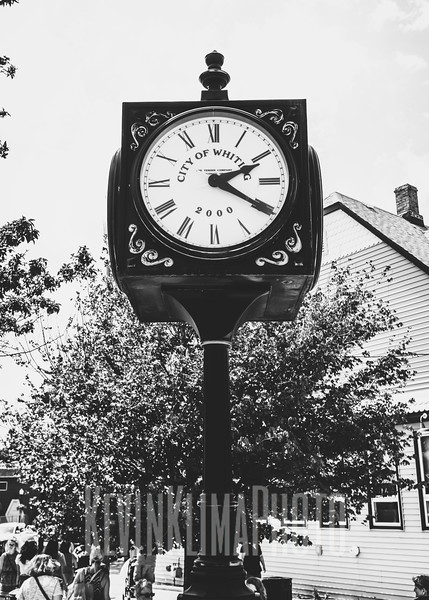 Whiting Town Clock