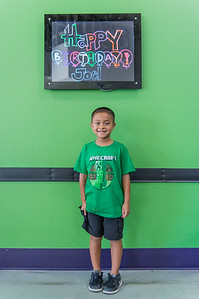 Joel's Seventh Birthday