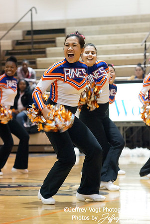 01-13-2012 Watkins Mill HS Varsity Poms, Photos by Jeffrey Vogt Photography