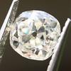 0.94ct Antique Cushion Cut Diamond GIA K Sl1 1