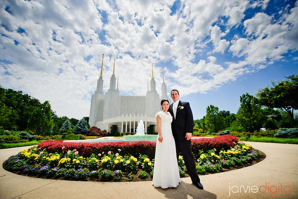 Wedding at the DC LDS Temple (Highlights)
