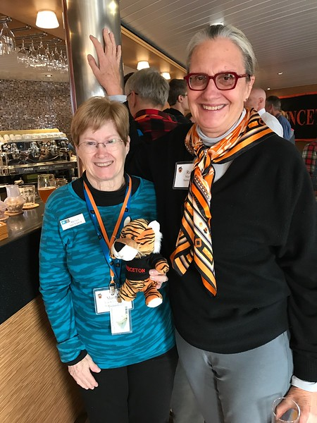 Robin and Marilyn with PJ the Tiger - Jennifer Caputo
