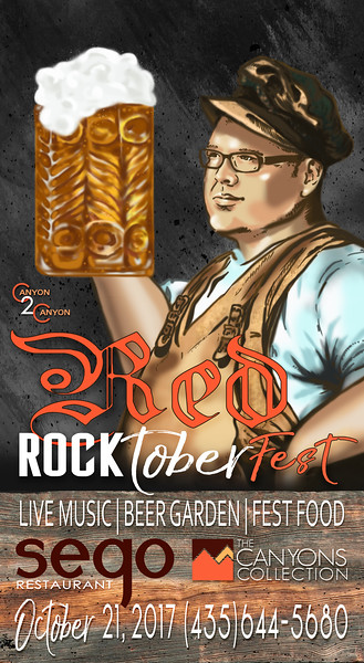 2017-10 RED ROCKTOBERFEST POSTERS AND ADS