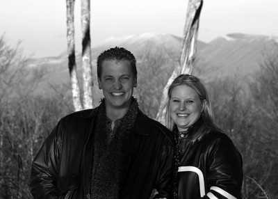 Madison & Lori Winter Portraits