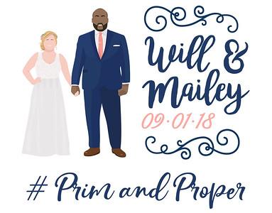 Will & Mailey Wedding