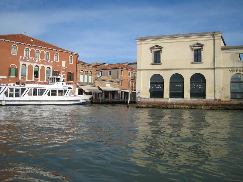 Murano (home of the glass blowers)