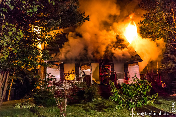 Structure Fire, Centerville, Kings. Co. July 07, 2018