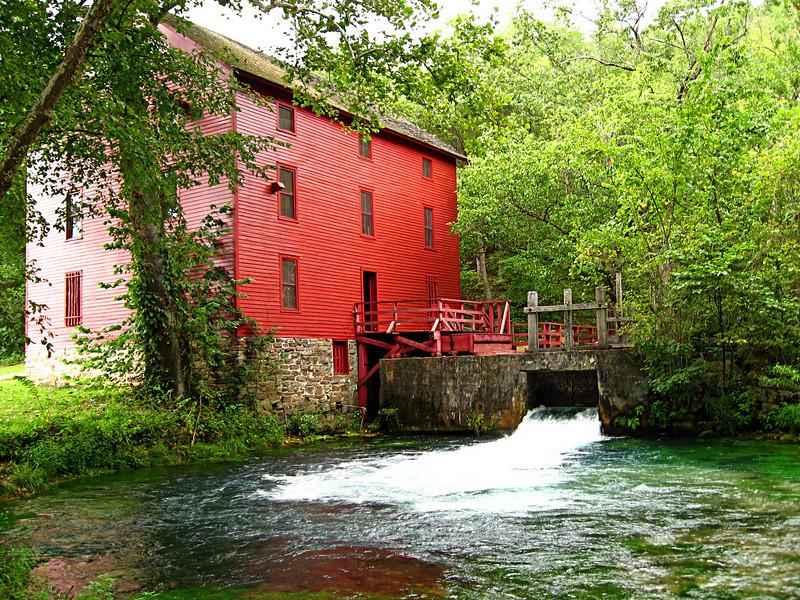 Alley Spring Mill. Near Eminence, Missouri.