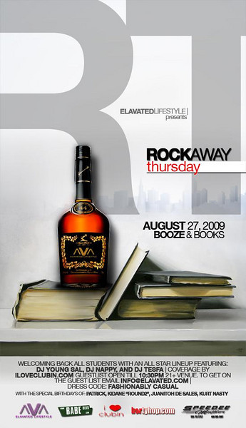 Rockaway Thursdays @ B412 Palo Alto 8.27.09